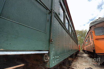 Photograph - South Elgin Trolley Museum 18 by Deborah Smolinske
