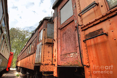 Photograph - South Elgin Trolley Museum 19 by Deborah Smolinske