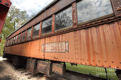 Photograph - South Elgin Trolley Museum 21 by Deborah Smolinske