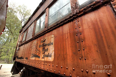 Photograph - South Elgin Trolley Museum 22 by Deborah Smolinske