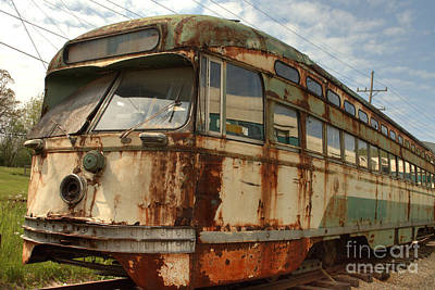 Photograph - South Elgin Trolley Museum 5 by Deborah Smolinske