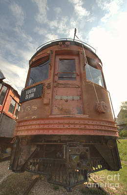 Photograph - South Elgin Trolley Museum 7 by Deborah Smolinske