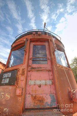 Photograph - South Elgin Trolley Museum 8 by Deborah Smolinske