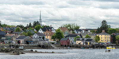 Nh Photograph - South End And North Church by Scott Thorp