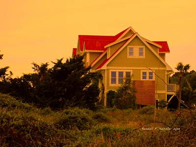 Photograph - South End Beach Home At Isle Of Palms by Kendall Kessler