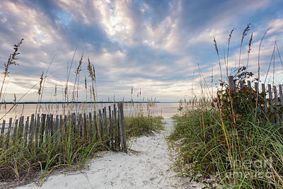 South End Sojourn Amelia Island Florida Art Print by Dawna  Moore Photography