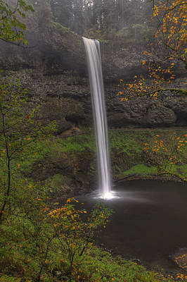 Photograph - South Falls 1  by Mark Kiver