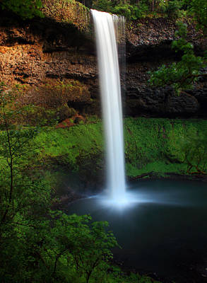 Photograph - South Falls by Pamela Winders