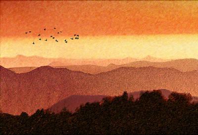 Digital Art - Here Comes The Sun by Paul Wear