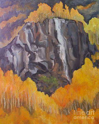 Painting - South Fork Autumn by Pat Crowther
