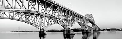South Grand Island Bridges New York Usa Art Print by Panoramic Images