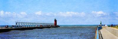 Photograph - South Haven Channel by Michelle Calkins