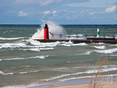 South Haven Splash Art Print