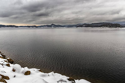 Photograph - South Holston Snow by Jonathan Grim