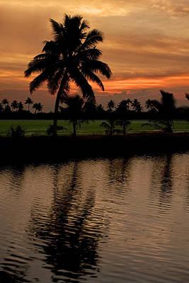 Kerala Photograph - South Indian Sunset by Andrew Soundarajan