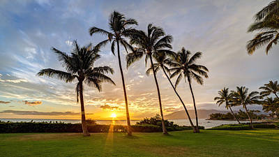 Photograph - South Kihei Sunset by Pierre Leclerc Photography