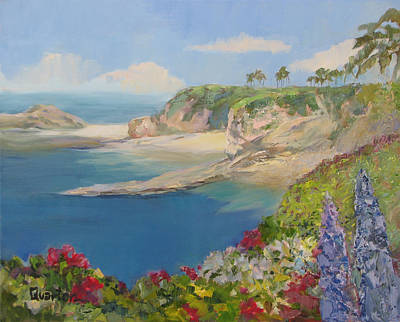 Painting - South Laguna by Lori Quarton