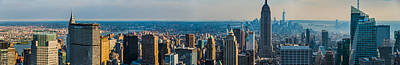 Photograph - South Manhattan Panoramic by Chris McKenna