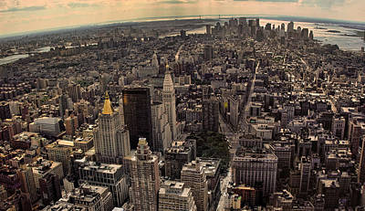 Photograph - South Manhattan Skyline  by New York