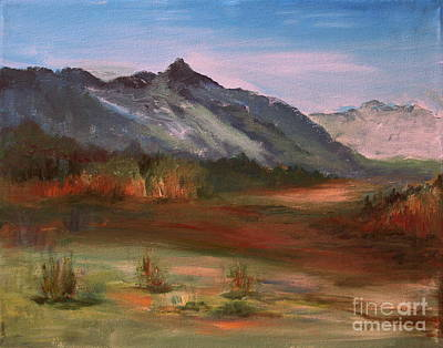Painting - South Mountain  by Julie Lueders