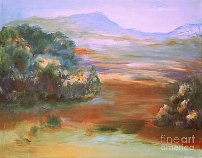 Painting - South Mountain Second In The Series by Julie Lueders