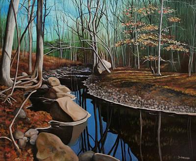 South Mountain Stream Art Print