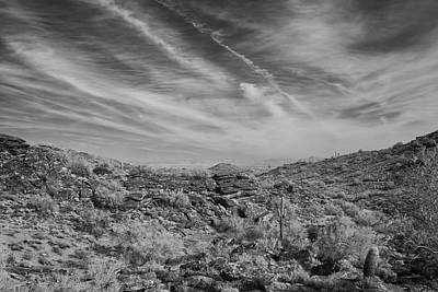 Photograph - South Mountain Vista by Michael Yeager