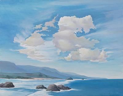 South Of Carmel Art Print