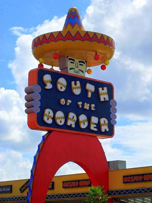 South Of The Border 10 Art Print