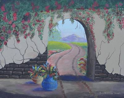 Painting - South Of The Border by Bob Williams
