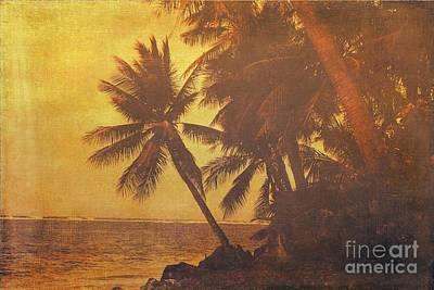 Sky Photograph - South Pacific Coastal by Scott Cameron