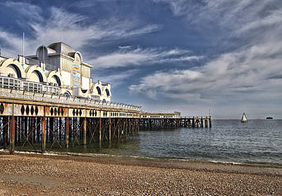 Photograph - South Parade Pier by Shirley Mitchell