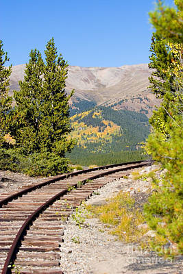 Photograph - South Park Railroad by Steve Krull