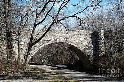 Photograph - South Park Stone Bridge by Luther Fine Art