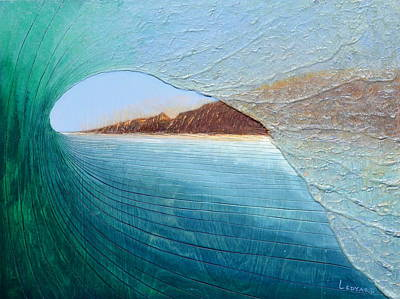 Painting - South Peak Barrel by Nathan Ledyard