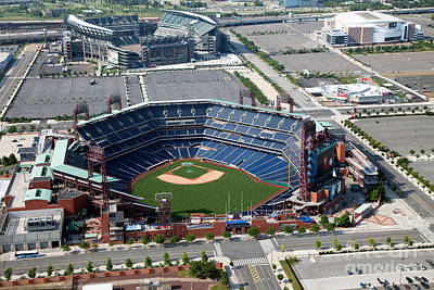 Citizens Bank Park Photograph - South Philadelphia Sports Complex Philadelphia Pennsylvania by Bill Cobb