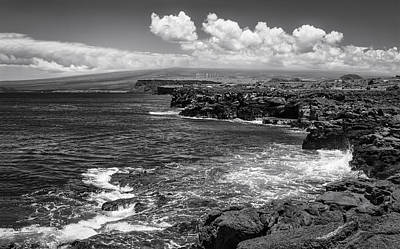 Photograph - South Point In Black And White by Eduard Moldoveanu