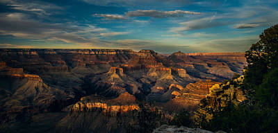 Photograph - South Rim Nightfall by Torrey McNeal