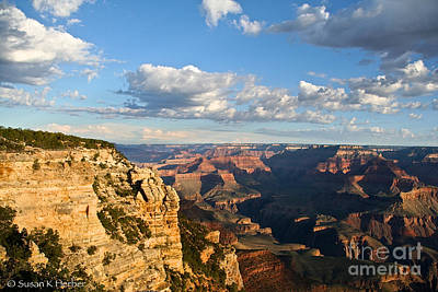 Photograph - South Rim Sunrise by Susan Herber