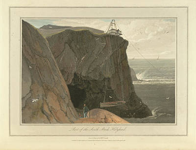 Cymru Photograph - South Stack And The Cliffs Of Holyhead by British Library