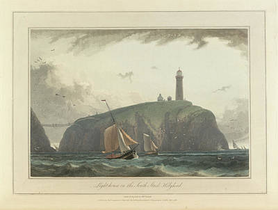 Cymru Photograph - South Stack Cliffs At Holyhead In Wales by British Library