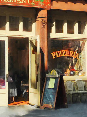 Photograph - South Street Seaport Pizzeria by Susan Savad