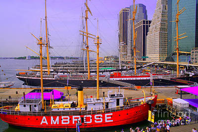 Photograph - South Street Seaport by Steven Spak