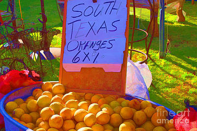 Photograph - South Texas Oranges by Audreen Gieger