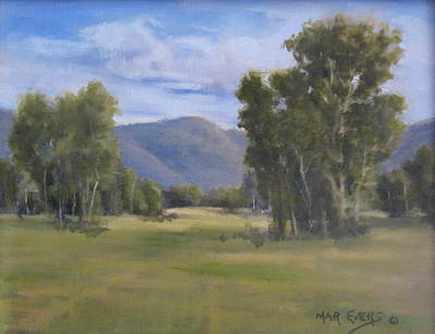 Painting - South Valley by Mar Evers