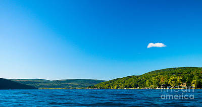 South View Of Canandaigua Lake Art Print