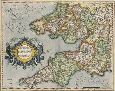 South Wales And South West England Art Print by British Library