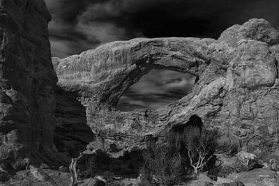 Arch Rock Photograph - South Windows - Arches National Park by Andrew Soundarajan