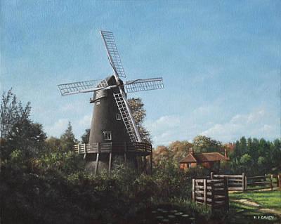Southampton Bursledon Windmill Art Print