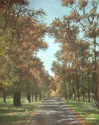 Painting - Southampton Palmerston Park by Martin Davey